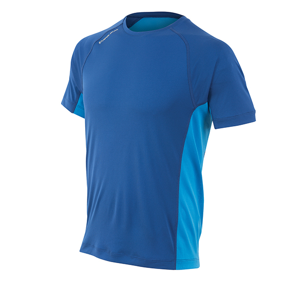 Pearl Izumi Running Shirt Flash Big IP KM Blauw - Maat S